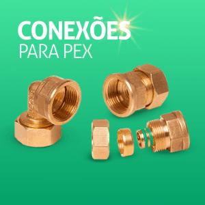 Conexões para Pex - ACESSÓRIOS PARA ENERGIA SOLAR