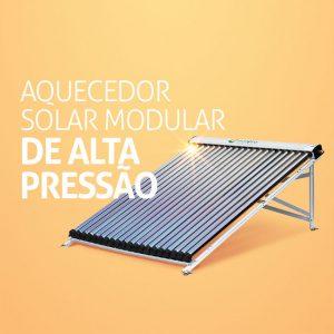 O aquecedor solar modular de alta pressão é ideal para edifícios e empresas grandes
