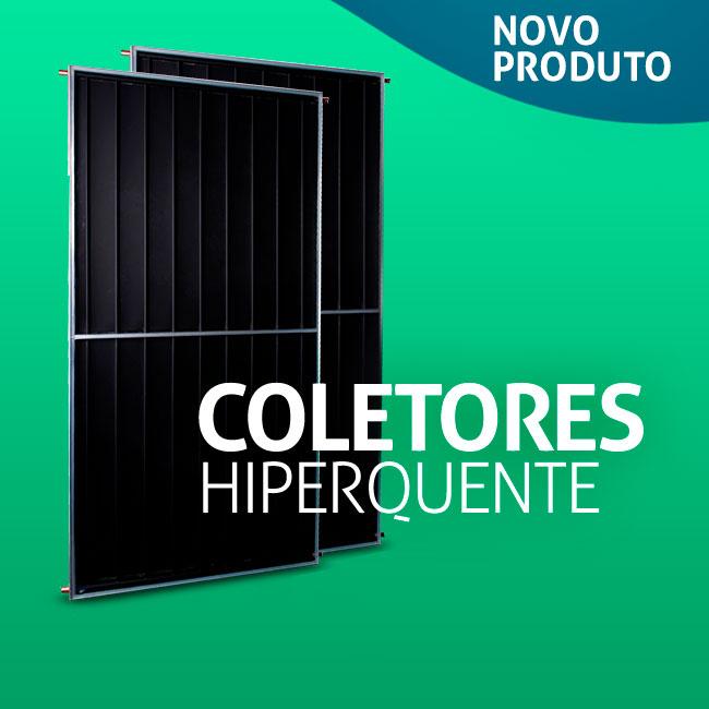 O Coletor Solar ECOPRO é fabricado no Brasil com foco na qualidade e eficiência.